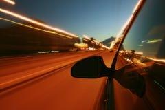 Impulsión de la noche Foto de archivo libre de regalías