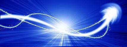 Impulsion d'énergie Image libre de droits