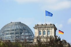 Impulsion de l'Europe Berlin Photos stock