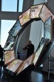 Impulsion de ville à l'un World Trade Center à New York City Photographie stock libre de droits