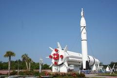 Impulsionadores de Rocket e foguete Imagens de Stock Royalty Free