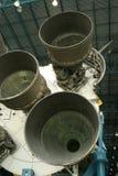 Impulsionadores de Saturno V Rocket Fotografia de Stock