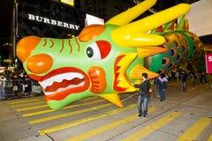 Impulso del dragón de China Imagen de archivo libre de regalías