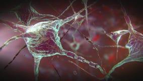 Impulso del neurone illustrazione di stock