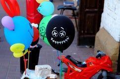 Impulso divertente con il sorriso Immagini Stock Libere da Diritti