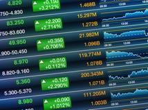 Impulso do mercado de valores de ação Fotos de Stock
