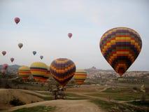 Impulsos de Cappadocia Fotografía de archivo libre de regalías