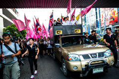 Impunity Bill Protest in Thailand Royalty Free Stock Photos