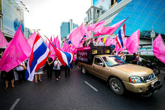 Impunity Bill Protest in Thailand Stock Image
