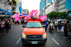 Impunity Bill Protest in Thailand Royalty Free Stock Images