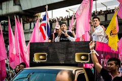 Impunity Bill Protest in Thailand Stock Photo
