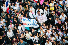 Impunity Bill Protest in Thailand Royalty Free Stock Image