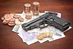 impure деньги Стоковая Фотография