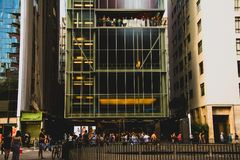 IMS大厦的前方 免版税库存照片