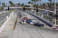 IMSA : Étalage de courses d'automobiles de sports de patron de tequila du 18 avril Image libre de droits