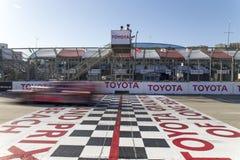 IMSA : Étalage de courses d'automobiles de sports de patron de tequila du 18 avril Photographie stock