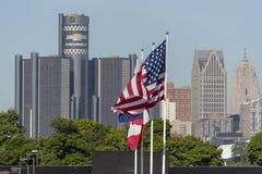 IMSA :格兰披治6月03日底特律 免版税库存图片