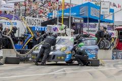 IMSA: 4 de junho Chevrolet Detroit Belle Isle Grand Prix imagens de stock royalty free