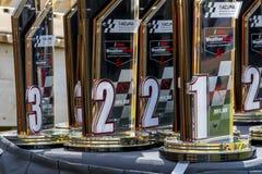 IMSA: Desafío del coche de deportes de Acura del 6 de mayo imagenes de archivo