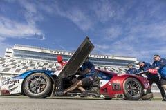IMSA: Am 25. Januar 24 Stunden bei Daytona Lizenzfreie Stockbilder