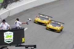 IMSA: Januari 31 Rolex 24 på Daytona Royaltyfri Bild
