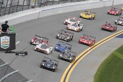 IMSA: 27 januari Rolex 24 Uren in Daytona Royalty-vrije Stock Fotografie