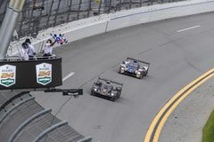 IMSA: 28 januari Rolex 24 Uren in Daytona Stock Foto
