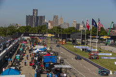 IMSA: Jun 03 Chevrolet Detroit Belle Isle Grand Prix Royalty-vrije Stock Afbeelding