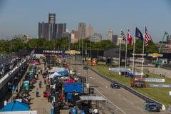 IMSA: Juni 03 Chevrolet Detroit Belle Isle Grand Prix Royaltyfri Bild