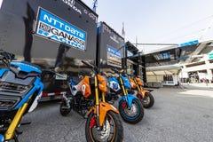 IMSA: 10 maart Firestone Grand Prix van St. Petersburg stock afbeelding