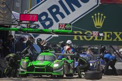 IMSA: March 17 Mobil 1 12 Hours of Sebring royalty free stock image