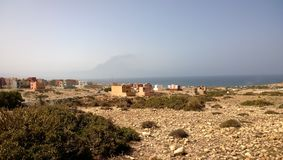 Imsouane между Агадиром & Essaouira - Марокко стоковое фото