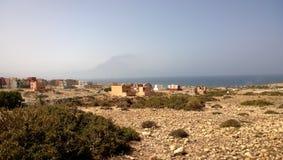 Imsouane mellan Agadir & Essaouira - Marocko Arkivfoto