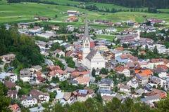 Imst en el Tyrol imágenes de archivo libres de regalías