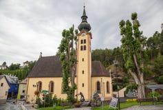 Imst en el Tyrol fotografía de archivo libre de regalías