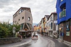 Imst en el Tyrol imagen de archivo