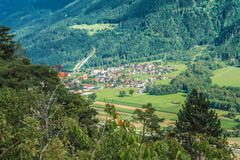 Imst town, Austria Stock Photography
