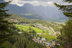 Imst in Tyrol Royalty Free Stock Photo