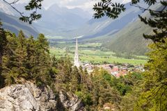 Imst in Tyrol Stock Photography