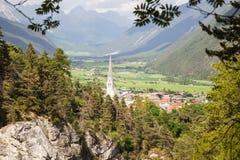 Imst w Tyrol fotografia stock