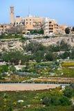 Imtarfa-Stadt und Landschaft, Malta Lizenzfreie Stockfotos