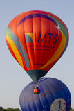 IMTS & Jordan Balloon cross paths Royalty Free Stock Photo