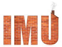 IMU italian municipal tax on buildings Stock Photography