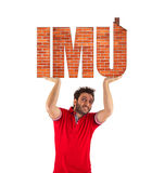 IMU, Italian tax. Property Tax. Stock Photos