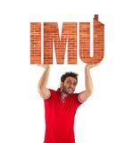 IMU, Italian tax. Property Tax. Stock Photos