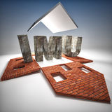 Imu tax Royalty Free Stock Photography