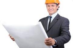 inżynier Obraz Royalty Free