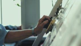 inżynier Narzędzia dla rysunku Tworzyć rysunek zbiory wideo