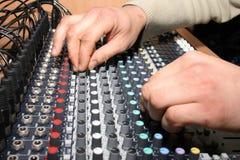 inżyniera dźwięk Obrazy Stock