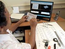 inżyniera główkowanie Obrazy Stock